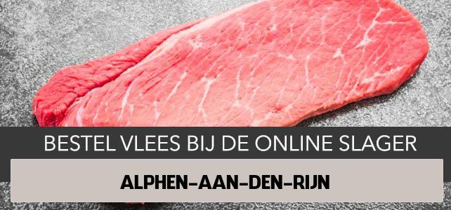 Vlees bestellen en laten bezorgen in Alphen aan den Rijn