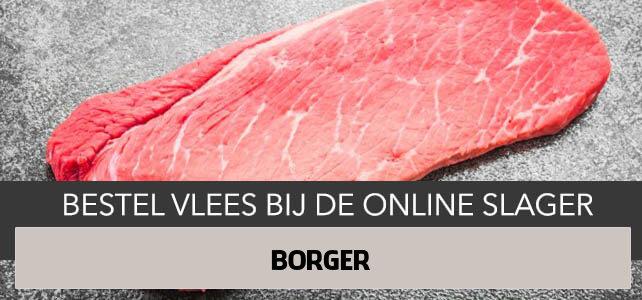 Vlees bestellen en laten bezorgen in Borger