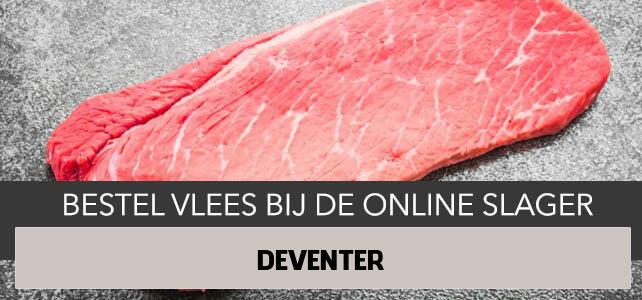 Vlees bestellen en laten bezorgen in Deventer