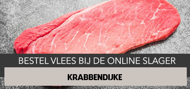 Vlees bestellen en laten bezorgen in Krabbendijke