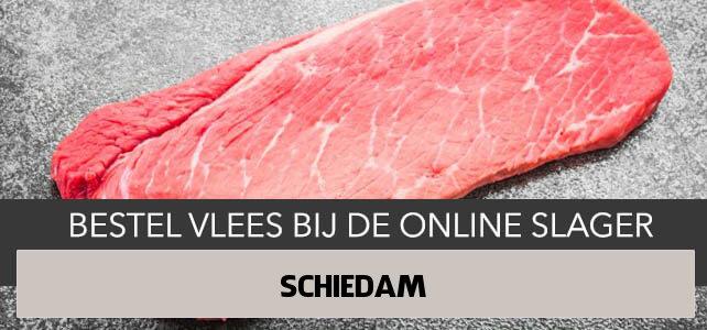Vlees bestellen en laten bezorgen in Schiedam