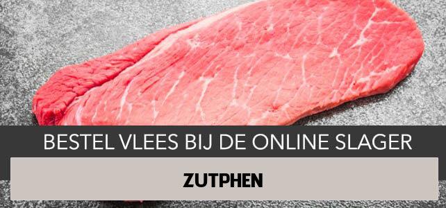 Vlees bestellen en laten bezorgen in Zutphen