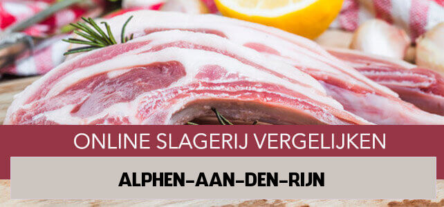 bestellen bij online slager Alphen aan den Rijn