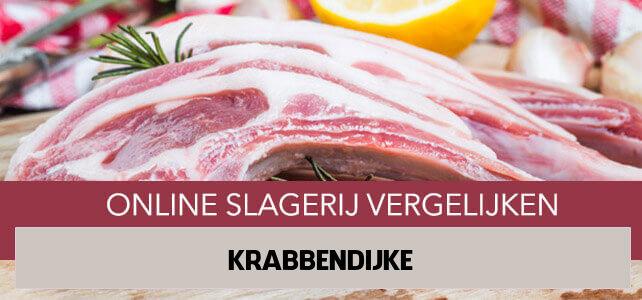 bestellen bij online slager Krabbendijke