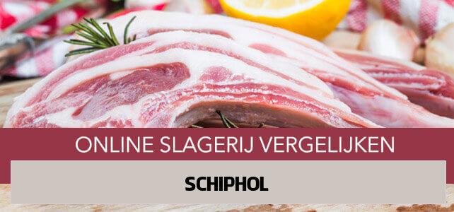 bestellen bij online slager Schiphol